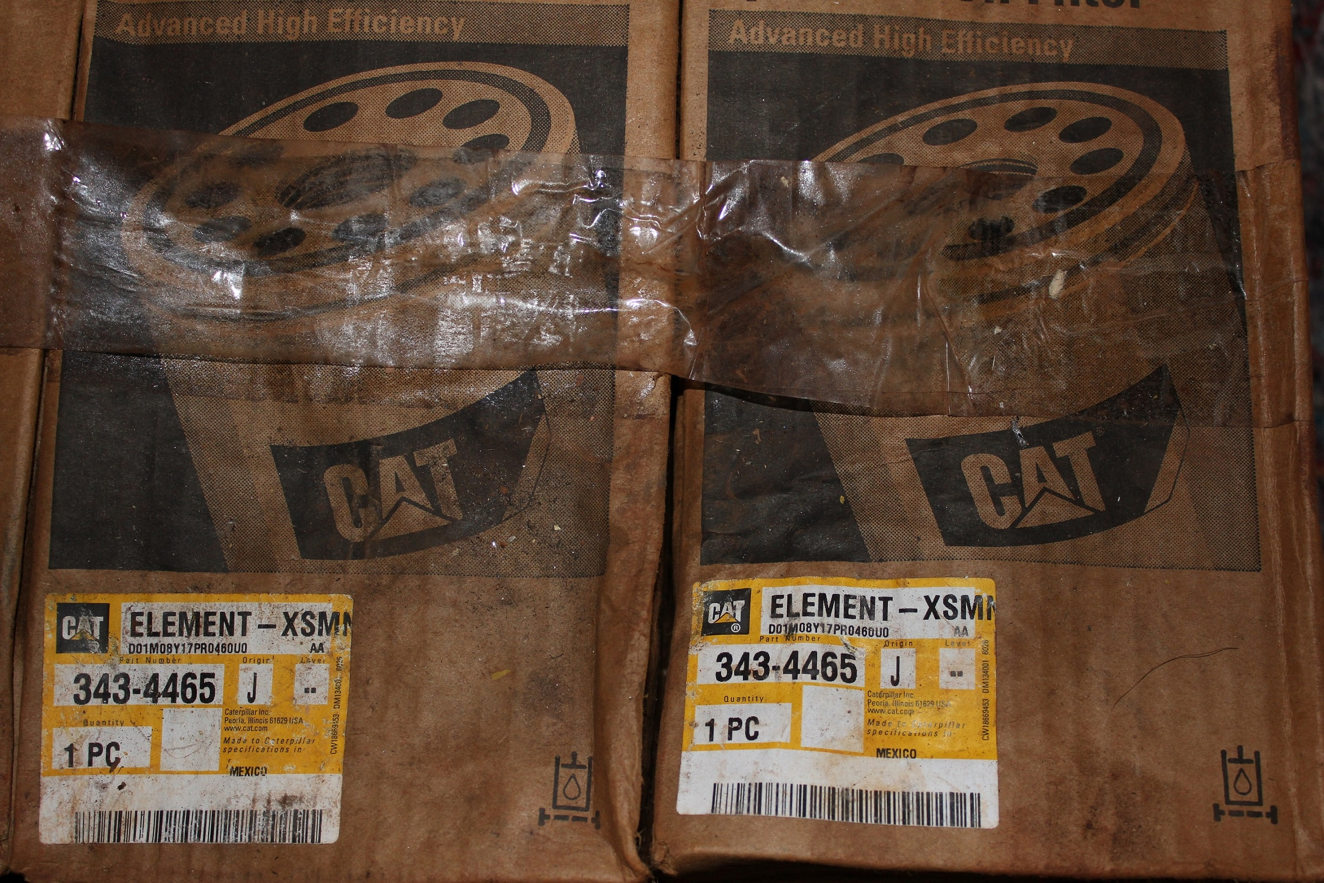 Caterpillar Hydraulic and Transmission Oil Filter 3434465